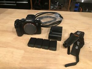 Sony A7S II 12.2MP Digital Camera - Black (Body Only w/4 Batts/Charger/2x HDMI)