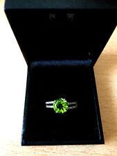 Juwelo - Mandschurischer Peridot _Ring (Gr.18)