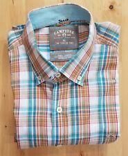 Claudio Campione Button Down Men's Mulitcolored XL Shirt