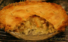 "☆""RECIPE""!☆Chicken Pot Pie W/Flaky Homemade Crust☆Flaky Perfection!!!☆"