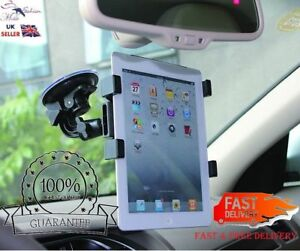 """Universal 360 Windscreen Car Suction Mount Holder for 6"""" To 11"""" Tablet and iPads"""