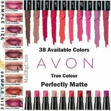 💖 AVON True Colour Perfectly Matte Lipstick 48 Available Colours Sample Size