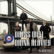 "45 Adapters - Dress Well, Drink Heavily 7"" LP - Colored Vinyl - Oi Punk NEW COPY"