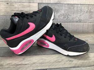 Nike Trainers Airmax IVO Children's Trainers Black & Pink UK 13