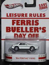 2013 HOTWHEELS - Retro entertainment C - FERRIS BUELLER'S DAY OFF Pontiac Fiero