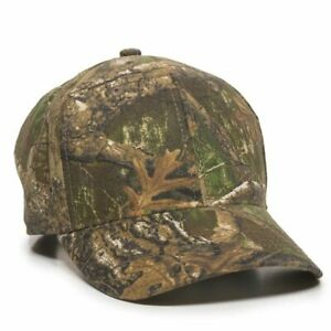 REALTREE Camo Pattern OPTIONS Blank Undecorated Hunting Hats Adjustable