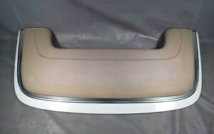 BMW E46 3-Series Convertible Cabrio Compartment Lid Tonneau Cover White Beige OE