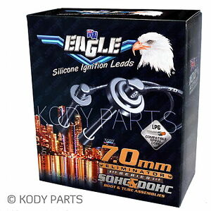 EAGLE IGNITION LEADS - for Daewoo Lanos 1.6L 16v DOHC (A16DMS engine) 1997-2003