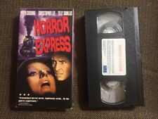 Horror Express VHS Video Telly Savalas, Christopher Lee, PRE-OWNED, Non-rental