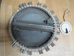 Fleischmann N elektrische Drehscheibe mit Erweiterung geprüft