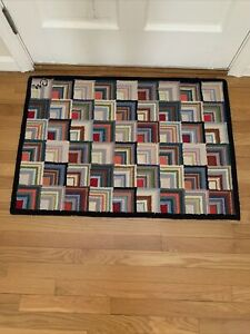 claire murray hooked rug