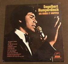 Engelbert Humperdinck We Made It Happen VInyl Record LP W6 Vintage
