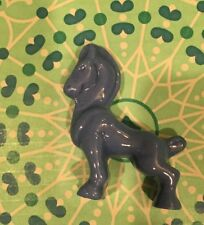 "Vintage Ceramic Horse Figure Blue ""3"