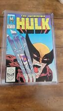 The Incredible Hulk #340 Great Condition Todd McFarland, Hulk & Wolverine fight