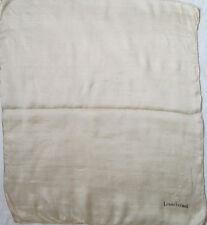 -AUTHENTIQUE Foulard tour de cou LOUIS FÉRAUD  soie TBEG  vintage   55 x 60 cm