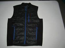 Propel Bass Engineered Men's Black 90% Duck Down Zip Up Vest Jacket Size M