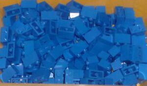 LEGO - BLUE, Brick 1 x 2,      x 150 (3004) BUJ2
