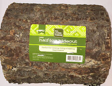 All Living Things Half Log Hideout Or For Basking Reptile Large Climbing