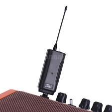 Sistema de receptor de transmisor audio inalámbrico LED guitarra eléctrica C0I2