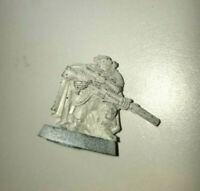 Sniper Scout Space Marine Warhammer 40K oop metal Games Workshop goggles cape