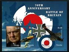Tuvalu 2010 Battle of Britain 4v SG MS 1398 MNH