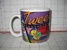 Warner Bros. Looney Tunes Tweety Bird Mug / Cup 12oz 1995 Cartoon Bird Applause