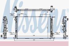 Nissens 60318 Radiador AUDI A4 2.0-3.0d-3.2i Aut 07