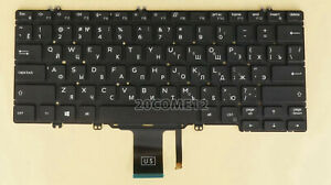 NEW for DELL Latitude 5300 / 5300 2 in 1  keyboard Russian Backlit NO FRAME