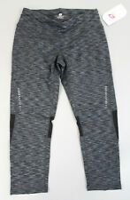 R-Gear Women's Recharge Compression Printed Crop Leggings HD3 Black Medium NWT