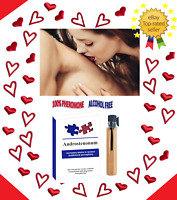 Best Pheromones ANDROSTENONUM 1ml 100% for Men Attract Women Infused Sex for Him