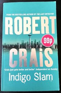 INDIGO SLAM by Robert Crais - An Elvis Cole Novel No. 7