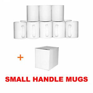 Sublimation Mugs Small Handle 11oz X36 White ORCA Double Coated Heat Press Print