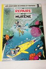 LE REPAIRE DE LA MURENE AVENTURES DE SPIROU ET FANTASIO N°9 FRANQUIN 1987 BD