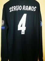 Maglia Calcio Football Shirt Real Madrid 2018/19 Sergio Ramos Champions League