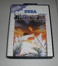 Ultima IV (Sega Master System, 1990) - PAL - COMPLETE - SMS
