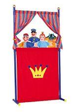 Simba 104586783 - Puppentheater mit 4 Handpuppen