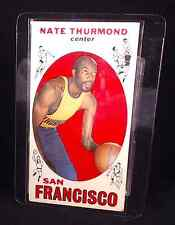 1969-70 Topps Basketball Card #10 Nate Thurmond RC - >45 years old! See the pics