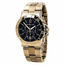 Michael Kors MK5410 Women's Bel Air Blue Dial Chronograph Rose Gold Steel Watch