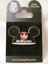 Wdw~Mint 2004 Mickey Mouse Club Flocked Ears Hat Pin # 15748