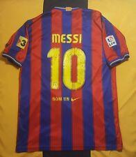 NIKE FC Barcelona size L 06/07 Home shirt jersey camiseta UNICEF Messi la liga