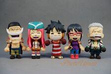 Cake Topper One Piece Straw Hat Pirates Luffy Bonney Smoker Tashigi Newgate SET