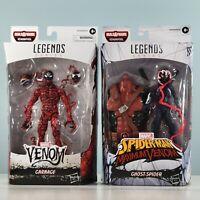 Marvel Legends: Maximum Venom - Carnage & Ghost-Spider 2-Pack Venompool BAF