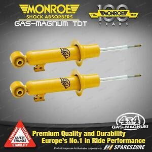 Front Monroe Magnum TDT Shock Absorbers for Nissan Pathfinder R51 2.5 4.0 Wagon