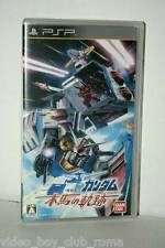 MOBILE SUIT GUNDAM MAKUBA NO KISEKI GIOCO USATO SONY PSP EDIZIONE JAPAN 35094