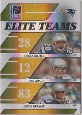 Serial Numbered Donruss Tom Brady Single Football Cards