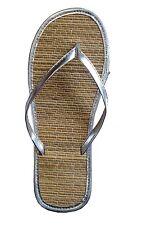 Women's Bamboo Sandal Flip Flops Flats Beach Summer Shoe Comfort Clearance--1212