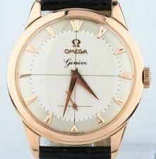Omega 18k Rose Gold Vintage 1960 Watch 17 Jewels Calibre 267 Excellent condition