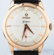Vintage 1960 Omega 18k Rose Gold Watch 17 Jewels Calibre 267 Excellent condition