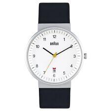 NEUF RRP £ 120 Braun BN 0032 WHBKG Homme tout blanc Black Watch