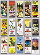 RAY HARRYHAUSEN 15 large 'WIDE' FRIDGE MAGNETS mini repro movie posters SET